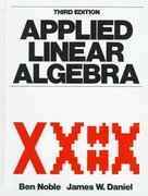 Applied Linear Algebra 3rd edition 9780130412607 0130412600