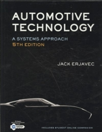 Automotive Technology: A Systems Approach (5th) edition 9781428311497 1428311491