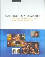Finite Mathematics for the Managerial, Life, and Social Sciences, Media Edition 9th edition 9780495387534 0495387533