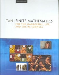 Finite Mathematics for the Managerial, Life, and Social Sciences, Media Edition (9th) edition 0495387533 9780495387534