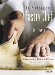 The Professional Pastry Chef 4th Edition 9780471359258 0471359254