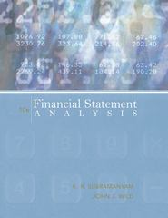 Financial Statement Analysis 11th edition 9780078110962 0078110963