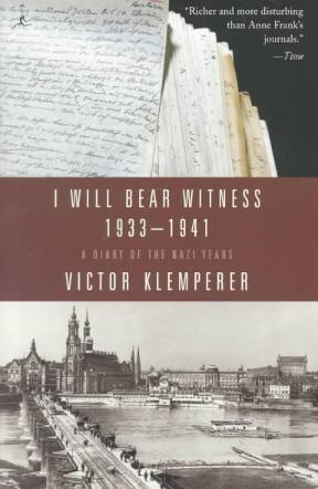 victor klemperer i will bear witness pdf