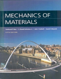 Mechanics of Materials (5th) edition 9780077221409 0077221400