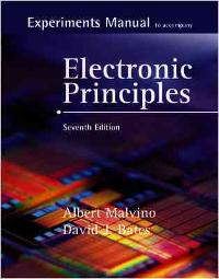 experiments manual with simulation cd to accompany electronic rh chegg com electronic principles 7th edition solution manual electronic principles malvino 7th edition solution manual