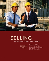 Selling: Building Partnerships 7th edition 9780073381084 007338108X