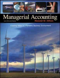 Managerial accounting 8th edition textbook solutions chegg managerial accounting 8th edition view more editions fandeluxe Choice Image