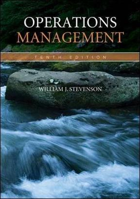 Operations management 10th edition rent 9780073377841 chegg operations management 10th edition 9780073377841 0073377848 view textbook solutions fandeluxe Choice Image
