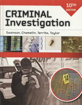 Criminal investigation (text only) 10th (tenth) edition by c.