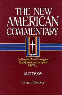 an analysis of the new american commentary matthew by blomberg C l blomberg, mat, thew (nashville: broadman, 1992 94-95) for commentary on 6:19-34, more generally, cf pp 122-27 4 cfesp r lischer, the sermon on the mount as radica pastoral care,l int 41 (1987) 157-69 c l blomberg ho, w the church can turn the other cheek and still be political, southern baptist public affairs 21 (1990 10-12).