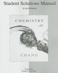 Student's Solutions Manual to accompany Chemistry (10th) edition 0073226742 9780073226743