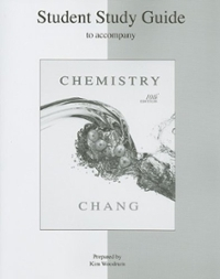Student Study Guide to accompany Chemistry 10th edition 9780073226767 0073226769