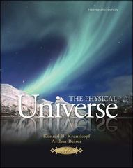The Physical Universe 13th edition 9780073512129 0073512125