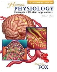 Laboratory Guide to accompany Human Physiology (13th) edition 9780073250632 0073250635
