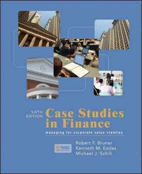 Case studies in finance robert bruner solutions