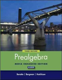 Student Solutions Manual for Prealgebra (3rd) edition 0073357871 9780073357874