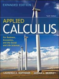Applied Calculus for Business, Economics, and the Social and Life Sciences, Expanded Edition (10th) edition 9780077297886 0077297881
