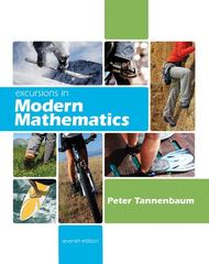 Excursions in Modern Mathematics 7th edition 9780321568038 0321568036
