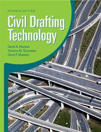 Civil Drafting Technology (7th) edition 0135000688 9780135000687