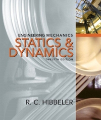 Engineering Mechanics (12th) edition 013300239X 9780133002393