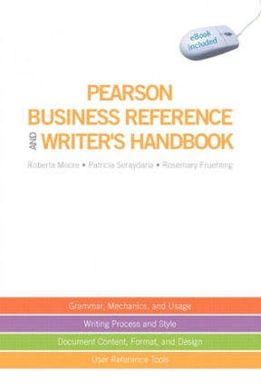 Pearson business reference and writers handbook with downloadable pearson business reference and writers handbook with downloadable ebook access code 1st edition fandeluxe Gallery