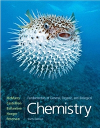 Fundamentals of General, Organic, and Biological Chemistry 6th edition 9780136054504 0136054501