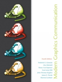 Modern Graphics Communications (4th) edition 0135151031 9780135151037