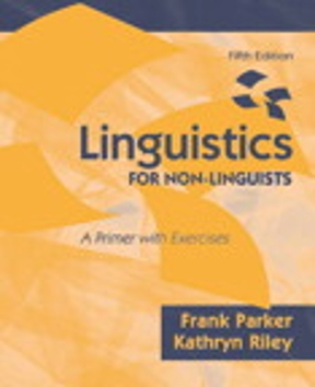 Linguistics for non linguists a primer with exercises 5th edition a primer with exercises fandeluxe Gallery