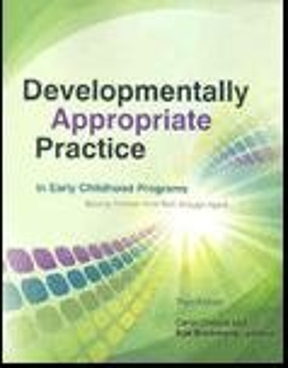Developmentally appropriate practice in early childhood programs developmentally appropriate practice in early childhood programs serving children from birth through age 8 3rd edition fandeluxe Gallery