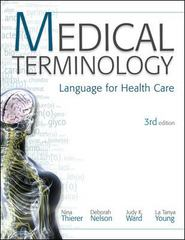 Medical Terminology 3rd edition 9780073374727 0073374725
