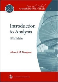 Introduction to Analysis 5th edition 9780821847879 0821847872