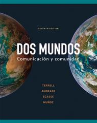 Combined Workbook/Lab Manual to accompany Dos mundos 7th Edition 9780077304652 0077304659